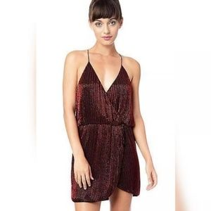 Parker Catrina Beaded cocktail dress